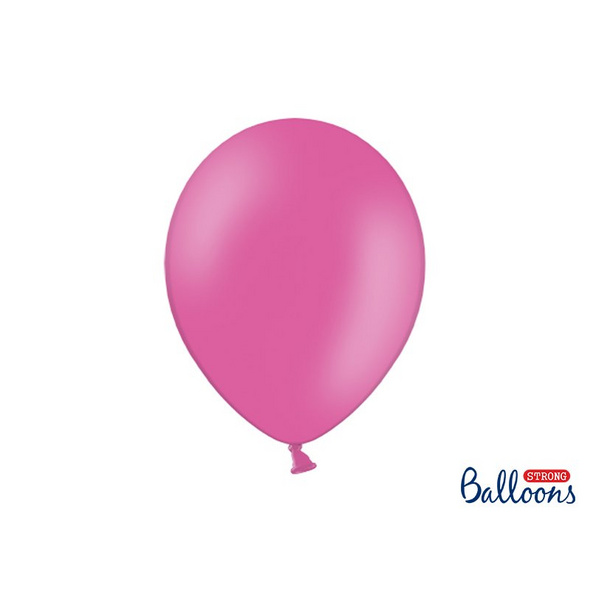 100 Strong Balloons 30cm. Pastel Hot Pink. 100pcs