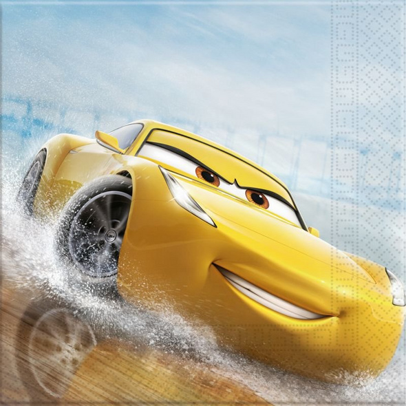 Cars The Legend Of The Track 20 Two-Ply Paper Napkins 33x33cm