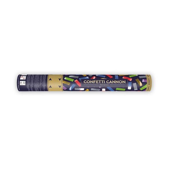 Konfetti Kanone 40cm bunter mix