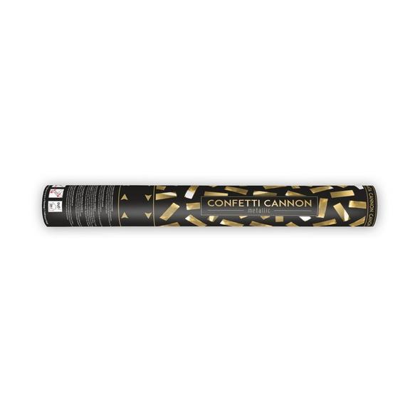 Konfetti Kanone 40cm gold