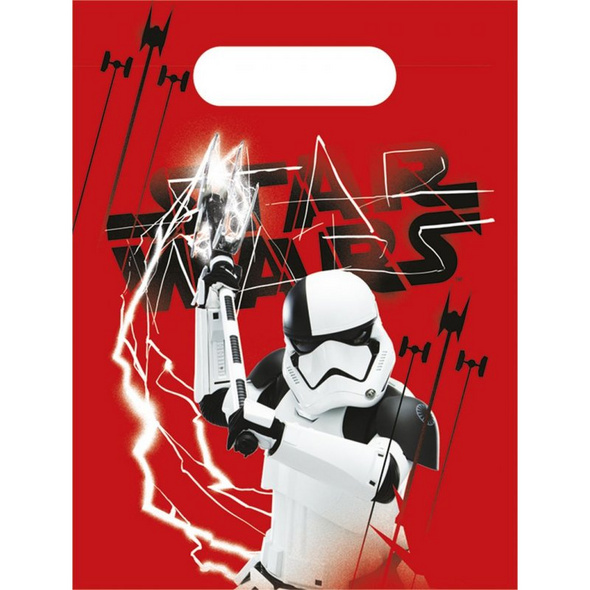 Star Wars Episode 8 6 Party Bags