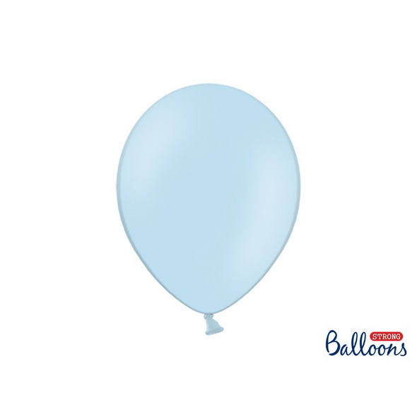 Strong Balloons 30cm. Pastel Baby blue. 10pcs