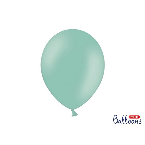 Strong Balloons 30cm. Pastel Mint Green. 10pcs.