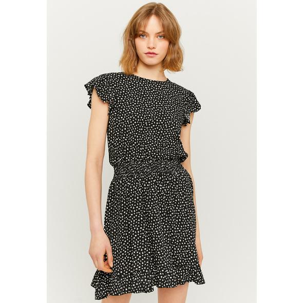Gerafftes ärmelloses Mini Kleid