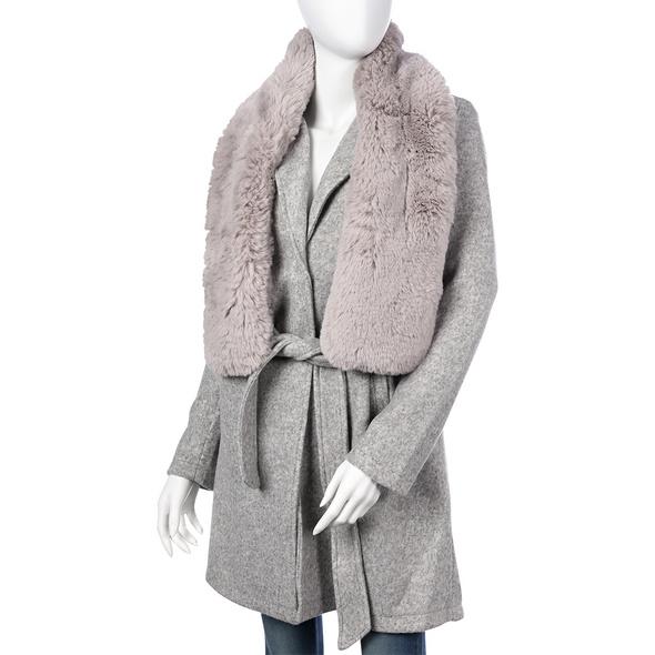 Schal - Grey Fur