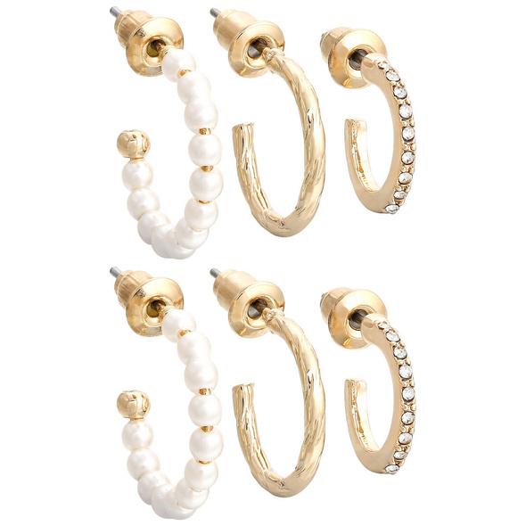 Creolen-Set - Shiny Pearls