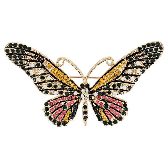 Brosche - Butterfly Magic
