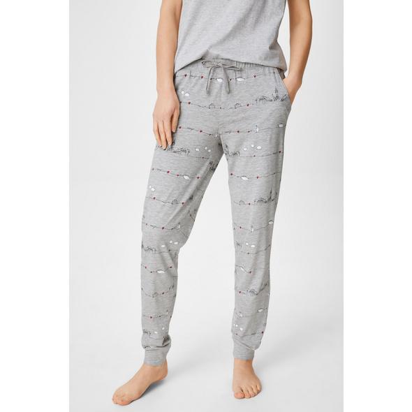 Pyjamahose - Bio-Baumwolle