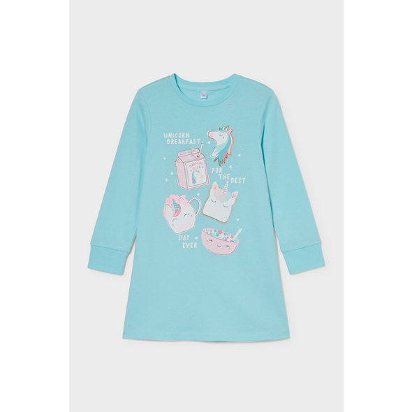 Einhorn - Nachthemd - Bio-Baumwolle