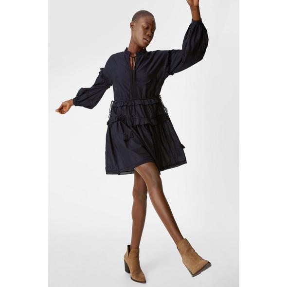 Kleid - Bio-Baumwolle - Tencel™ - 2 teilig