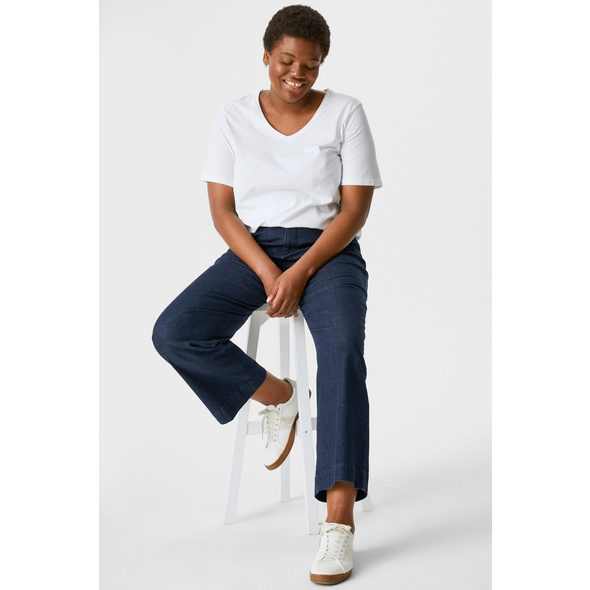 Wide Leg Jeans - recycelt