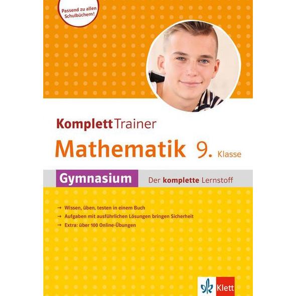 Klett KomplettTrainer Gymnasium Mathematik 9. Klasse