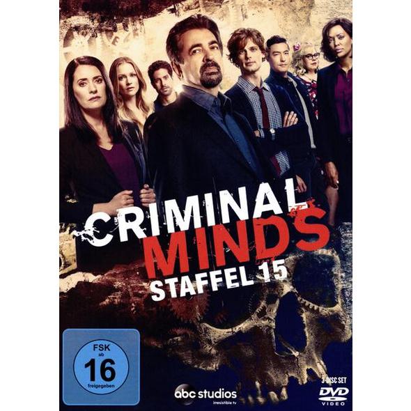 Criminal Minds - Die komplette fünfzehnte Staffel   [3 DVDs]
