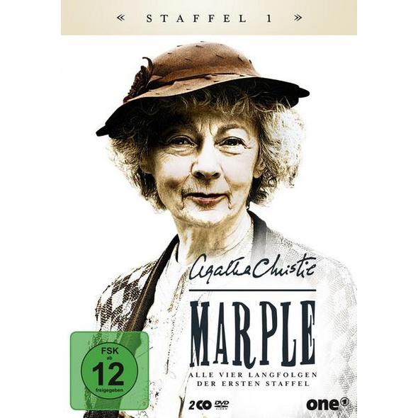 Agatha Christie: MARPLE - Staffel 1 - Erstmals die komplette erste Staffel mit allen vier Langfolgen  [2 DVDs]