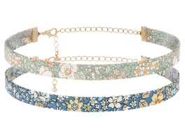 Choker - Flower Pattern