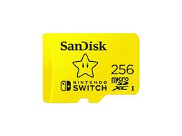 Nintendo Switch SANDISK microSDXC UHS-I Speicherkarte 256 GB