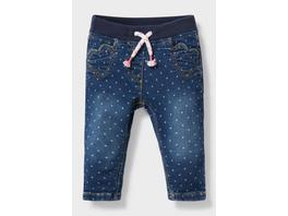 Baby-Jeans - gepunktet
