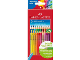 Faber-Castell Buntstifte Colour Grip 24er Set