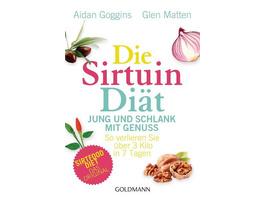 Die Sirtuin-Diät - Jung und schlank mit Genuss